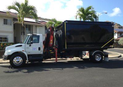 Dumpsters on Demand Truck